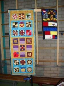 Herstel door het kruis en kruis ( Mondriaan) bij de Paasjubel te Gorinchem
